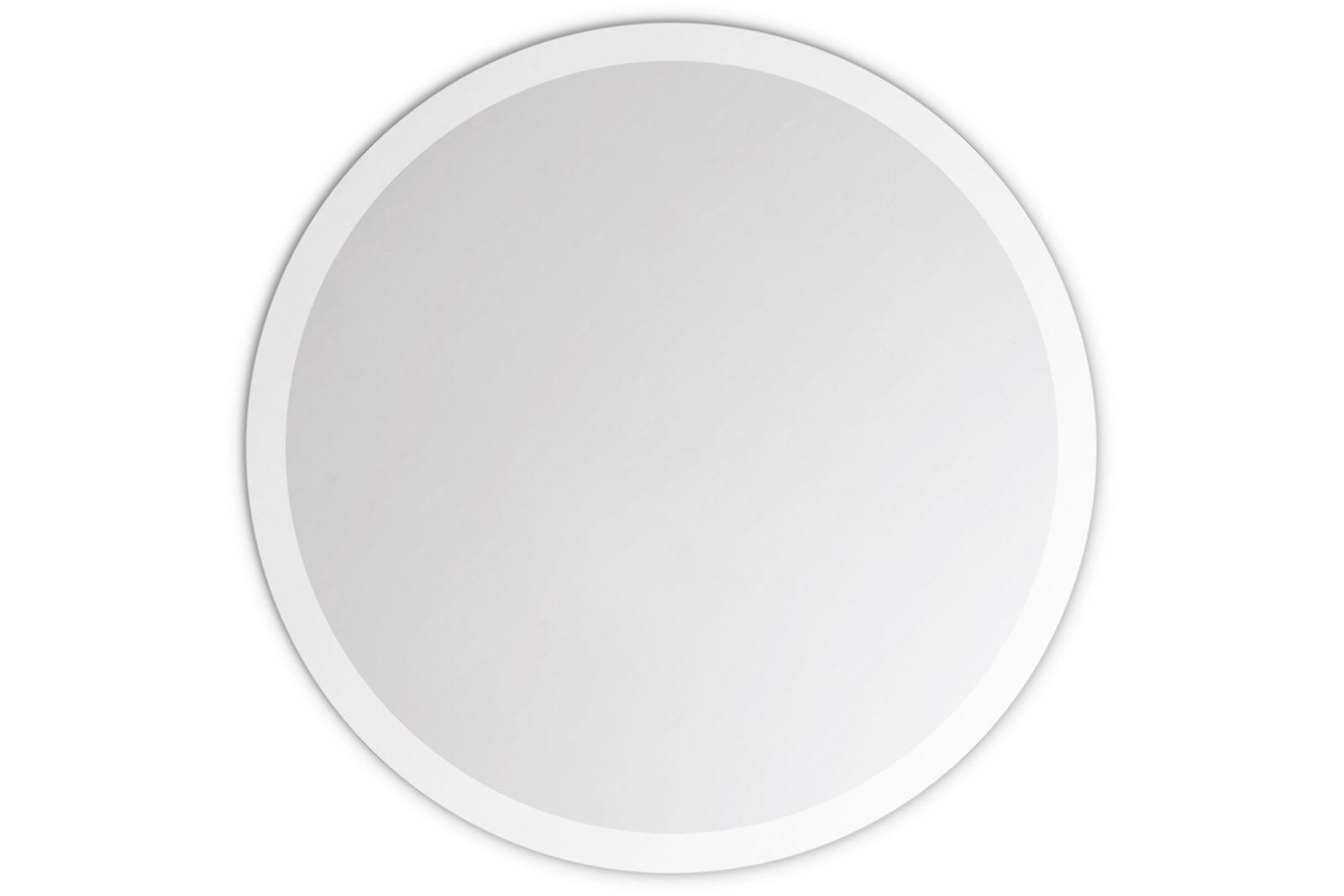 wandspiegel rund 6mm echtglas gefaste kante mit wandhalterung ebay. Black Bedroom Furniture Sets. Home Design Ideas