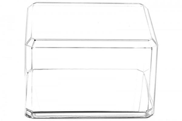 Pioneer Plastics - hochwertige Vitrine aus Acryl zum Sammeln und Verstauen eines Baseballs, Spiegel